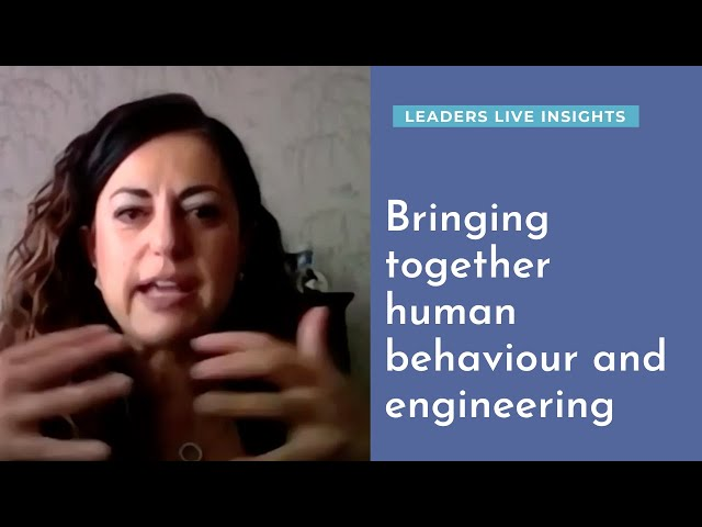 Bringing together human behaviour and engineering | Leaders LIVE Insights | Road safety