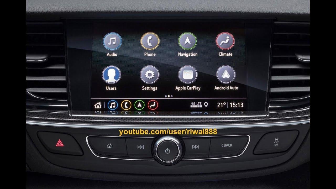 !NEW! Opel Insignia MY 2019 - New Generation Infotainment System (HD)
