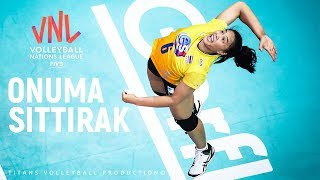 POWERFUL VOLLEYBALL SPIKES by ONUMA SITTIRAK (อรอุมา สิทธิรักษ์) | Women's VNL 2019