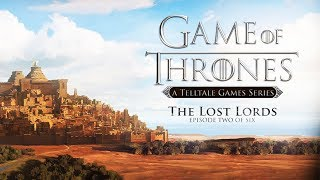 """GAME OF THRONES – Episode 2 """"The Lost Lords"""" (Telltale Series) All Cutscenes 1440p 60FPS"""