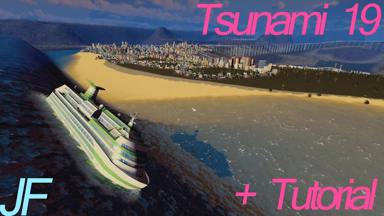 Cities Skylines Natural Disasters Tsunami Not Working