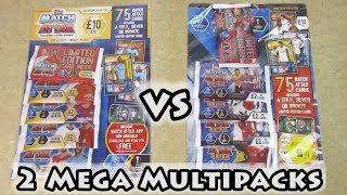 Match Attax Extra 201920 Mega Multipack \u0026 Match Attax 201920 Mega Multipack Opening