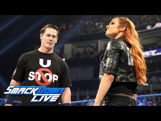 Becky Lynch calls out John Cena: SmackDown LIVE, Jan. 1, 2019