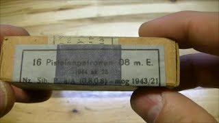 Немецкие патроны 9x19 Luger: разбоксинг