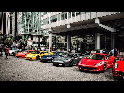 Koenigsegg Ferrari Lamborghini Bugatti Mclaren NON-STOP SUPERCAR BRUTAL ACCELERATION