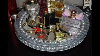 Mother's Day Gift **diamonds & Pearls Vanity Tray**