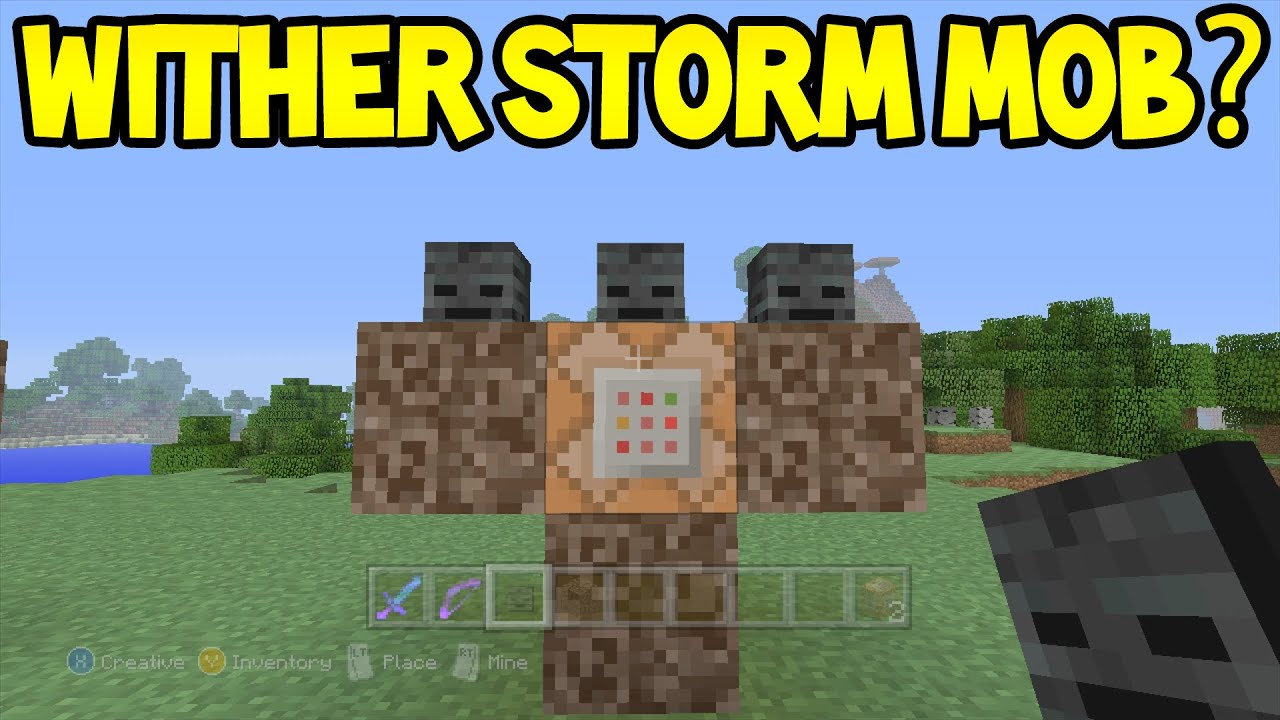 Minecraft how to summon wither