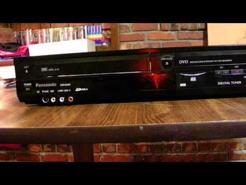 how to work my vcr