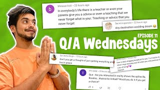 Q\A WEDNESDAY Ep.11   How much i earn from collabs? 😨