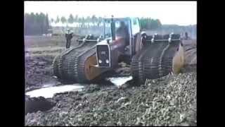 Трактор вездеход на широкой гусинице(Трактор вездеход Massey Ferguson 2680 считается супер проходимым . но как показывает видео,можно и ему поставить..., 2014-04-25T21:27:27.000Z)