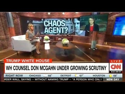 New Day With Chris and Alisyn 05/24/17: WH COUNSEL DON MCGAHN UNDER GROWING SCRUTINY