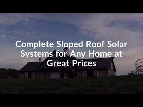 Complete Sloped Roof Solar Systems for Any Home at Great Prices- Sydney Australia