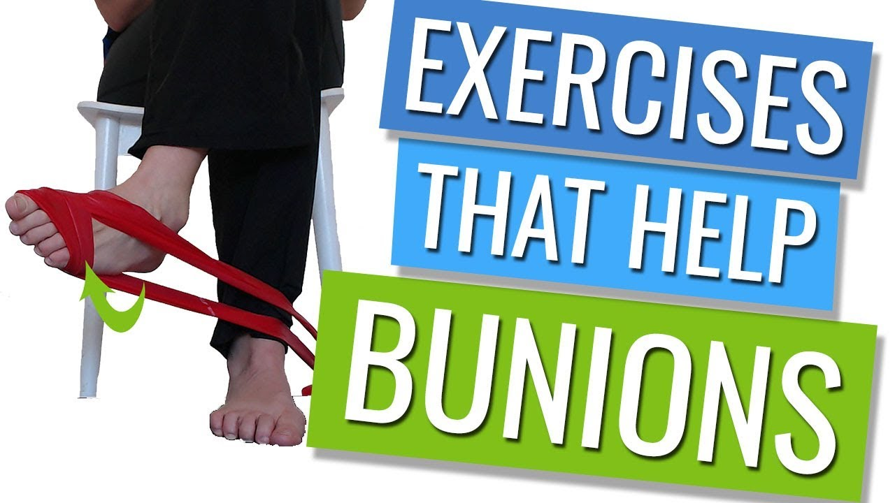 Exercises for Bunions - YouTube