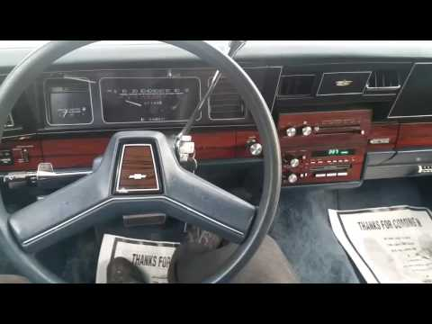 1989 Chevrolet caprice brougham LS with 31,000 miles!
