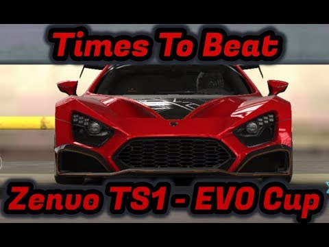 CSR2 | Zenvo TS1 GT Evolution Cup | Times to Beat | Tune for Race 12 Speed Trap and Last Race