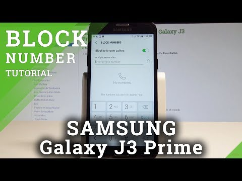How to block voicemail on galaxy j3