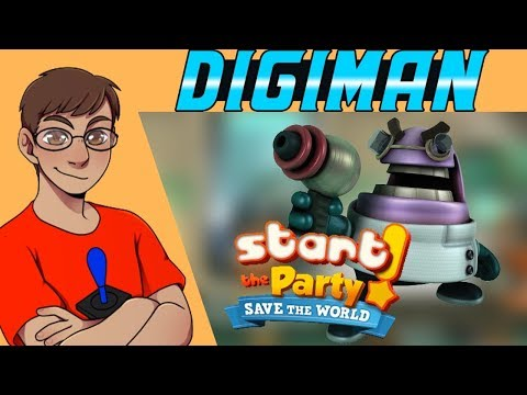 Start The Party!: Save The World - Digiman