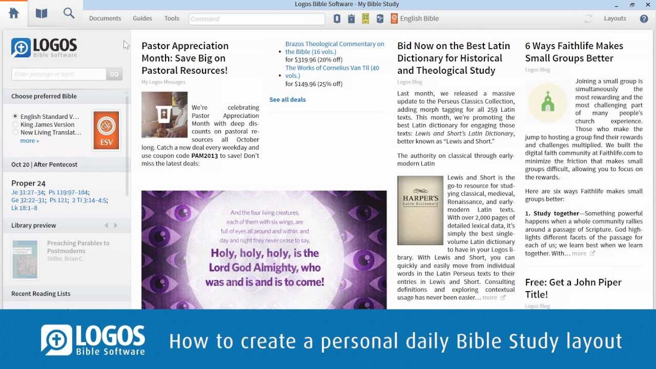 Bible Study Software - The CrossWire Bible Society