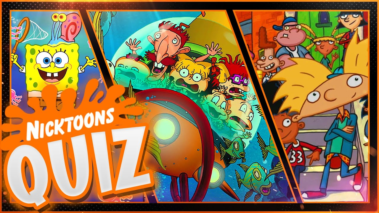 Nicktoons Quiz | Nickelodeon Quiz  | Cartoon Characters Quiz | Classic Cartoons #KnowYourNick