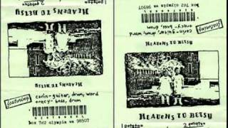 Heavens To Betsy -Demo Tape- Seek And Hide