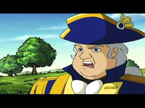 Liberty's Kids HD 108 Promo - The Second Continental Congress | History Cartoons for Children