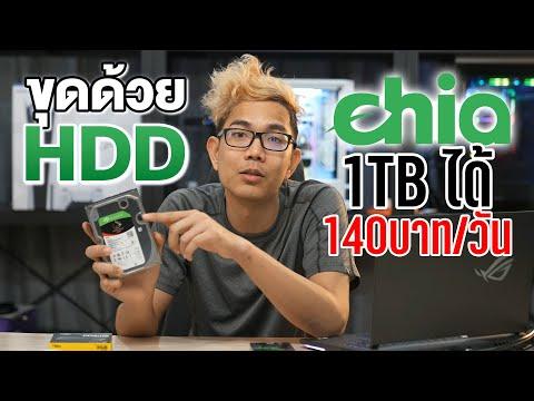 ใช้ HDD ขุดเหรียญ XCH ขุด มีแค่ 1TB ก็ได้วันละ 140 บาทต่อวัน!! ||Cryptocurrency