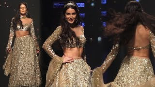 Katrina Kaif Sister Isabel Kaif Ramp Walks For Shehlaa LFW Day 5