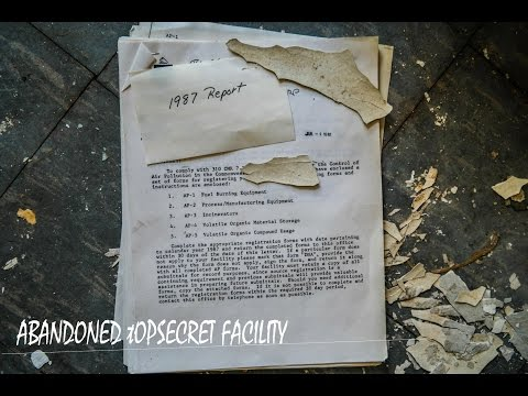 ABANDONED FACILITY LAB | TOPSECRET GOVERNMENT DOCUMENTS |