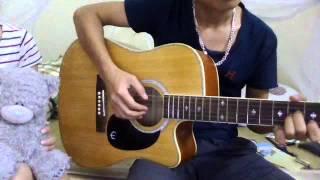 guitar cover a little love .()