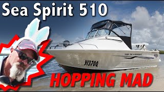 510 Sea Spirit Quintrex Boat 90 Hp Etec | Australia's best marine Youtube channel
