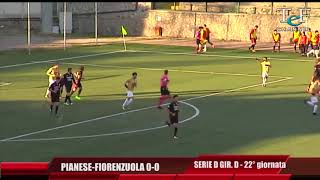 Serie D Girone D Pianese-Fiorenzuola 0-0