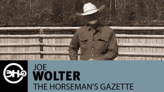 Cow Work Exercises - Riding A Horse Who Is Behind The Leg With Joe Wolter
