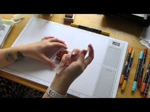 Stampin Studio - How to Stamp with Stampin Write Markers