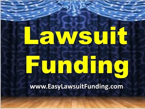 Lawsuit Funding – Pre Settlement Funding - Lawsuit Loans