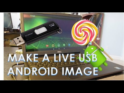 Create a Live Bootable Android USB Flashdrive (for PC