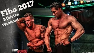 Fibo 2017 // Athletes Workout