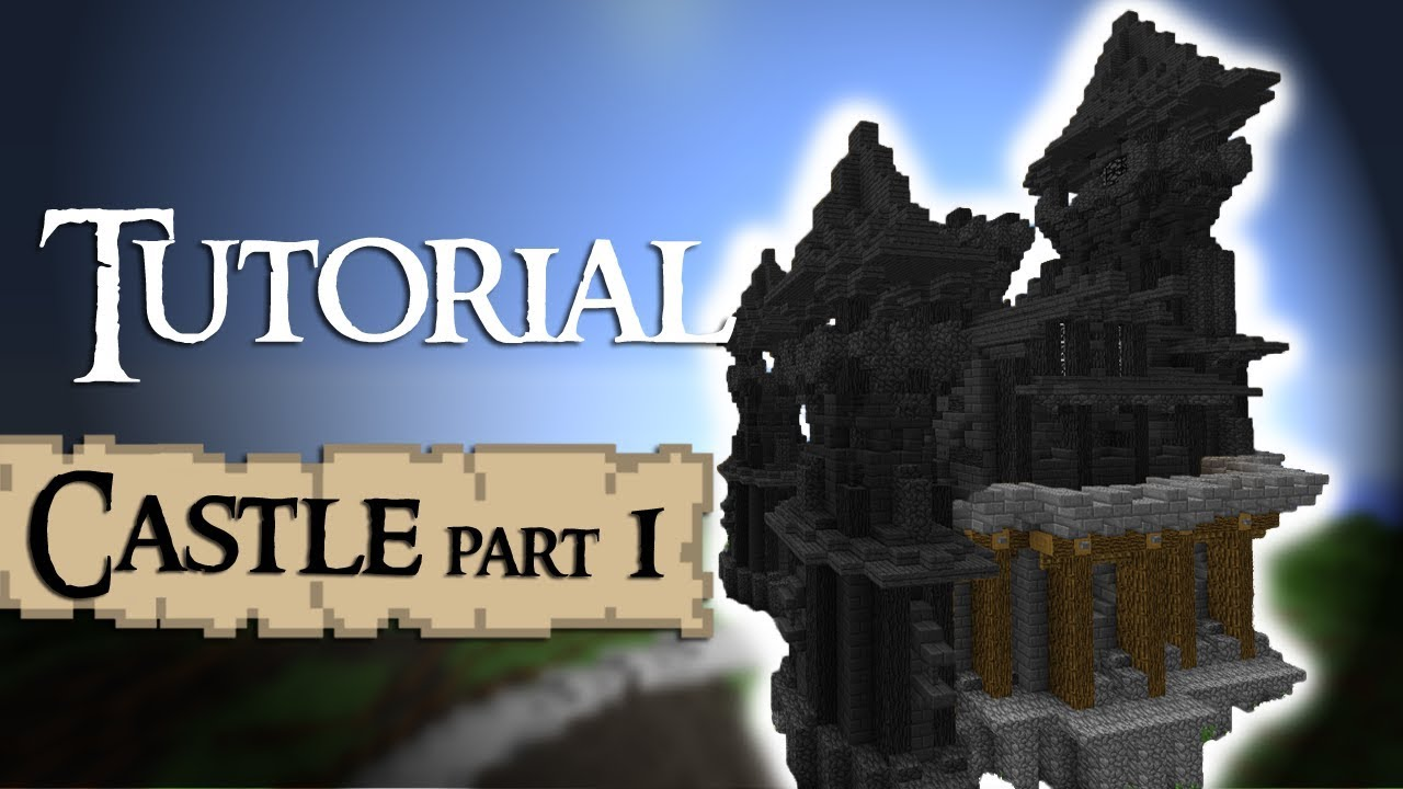 Minecraft Castle Tutorial Walls Part 1 By Madnes64