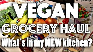 What's in My VEGAN Kitchen + GROCERY HAUL