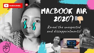 Unboxing Macbook Air 2020 (2017 vs 2020 camera = disappointed lol)