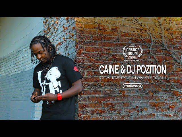 CAINE x DJ POZITION x MELKWEG AMSTERDAM