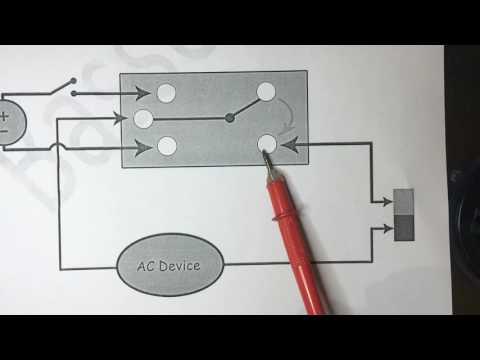 Spdt micro mini relay 5v