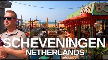 [4K] Scheveningen, (2019) Netherlands Walking tour through the city.
