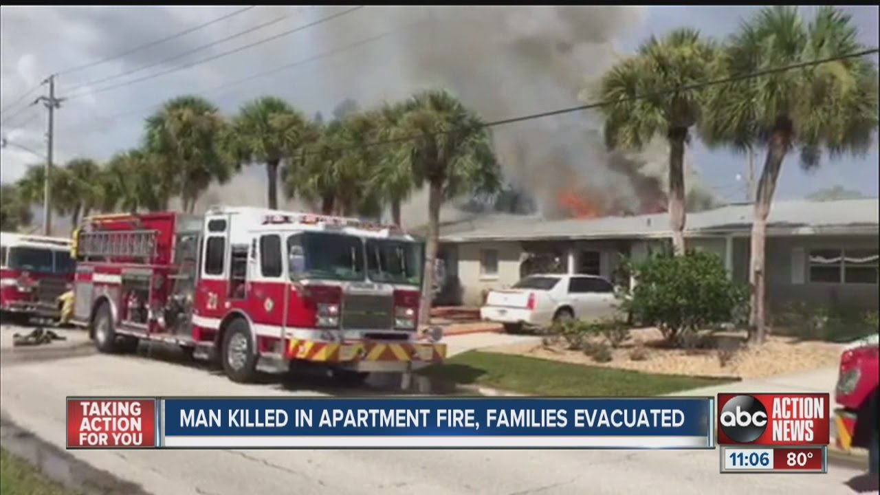 one dead in sarasota county condo building fire doovi