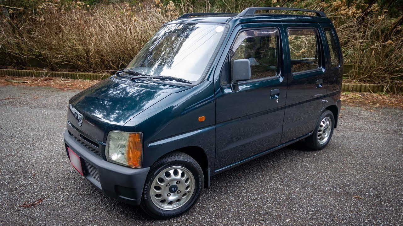1993 Suzuki Wagon R 4wd Manual Walk Around And Test Youtube