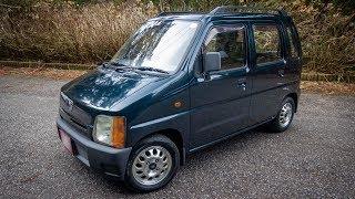 1993 Suzuki Wagon R - 4wd & Manual - Walk-Around and Test