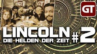 Thumbnail für GameTube Pen & Paper: Lincoln: Die Helden der Zeit #2 - Grog & Gauner