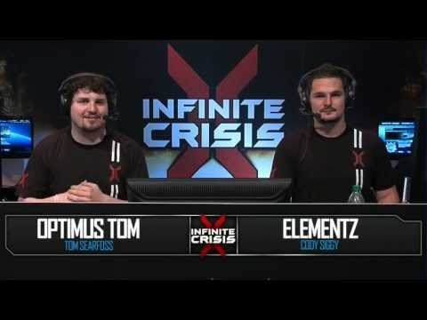 Complexity vs Curse Academy - Game 2 - Infinite Crisis LIVE from E3!