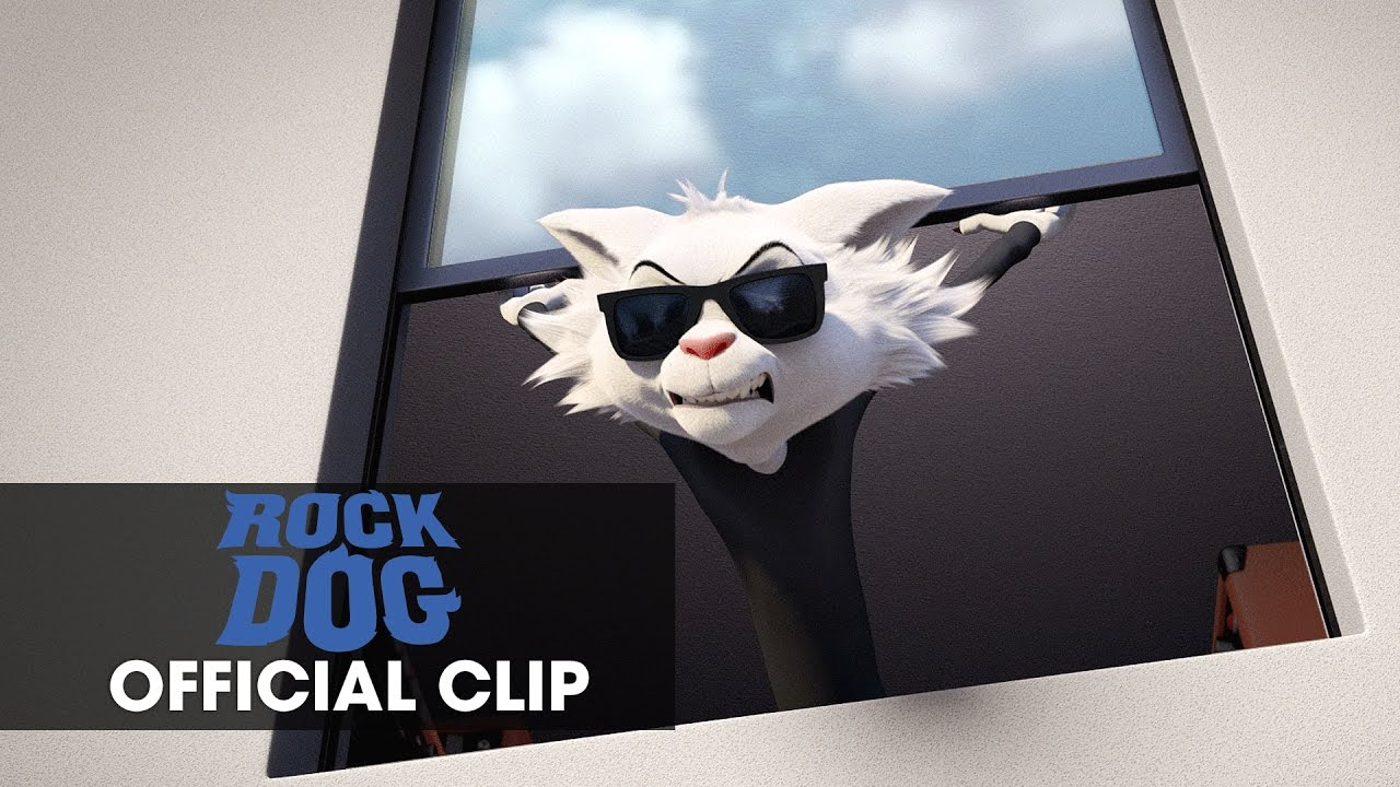 """Rock Dog (2017 Movie) – Official Clip """"The Gates Are Closing"""""""