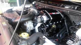 Sprintex supercharger V6 pentastar