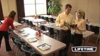Lifetime 8 ft Professional Grade Folding Table